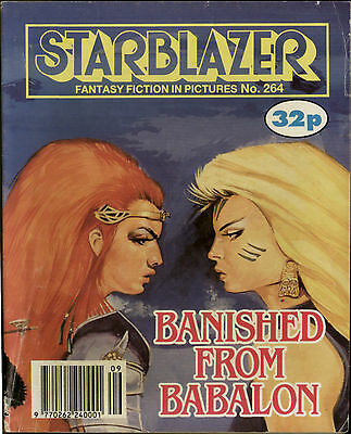 Banished From Babalon,starblazer Fantasy Fiction In Pictures,comic,no.264,1990