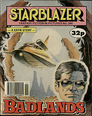 Badlands,starblazer Fantasy Fiction In Pictures,comic,no.266,1990