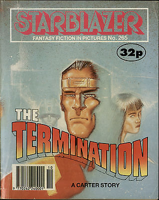 The Termination,starblazer Fantasy Fiction In Pictures,comic,no.265,1990