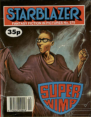 Super Wimp,starblazer Fantasy Fiction In Pictures,comic,no.275,1990