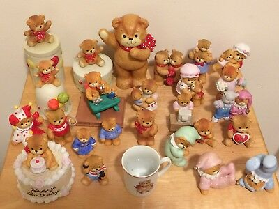 Lucy & Me, Rigglets, Enesco Bears-lot of 26