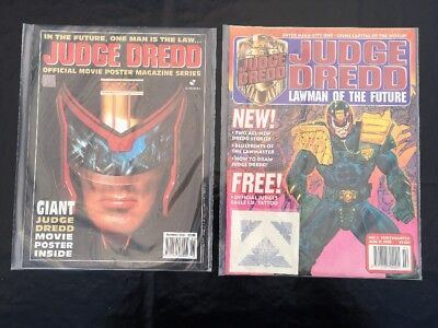 Judge Dredd Lawman Of The Future Stallone Movie Comic
