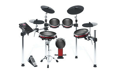 ALESIS CRIMSON II MESH KIT 5pce Electronic Drum Kit with Mesh Heads +HEADPHONES
