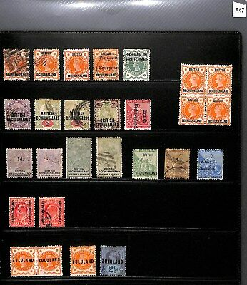 A47 - British Bechuanaland - Mint & Used