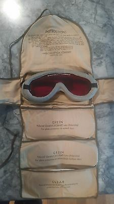 WWII US Army Polaroid All Purpose Goggle Kit No.1021