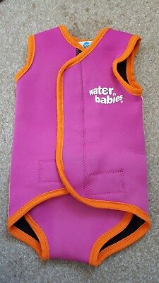 water babies wrap splash about medium 6-18 months