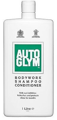 Autoglym 1L Bodywork Shampoo Conditioner 1 Litre Rust Inhibitor Protection