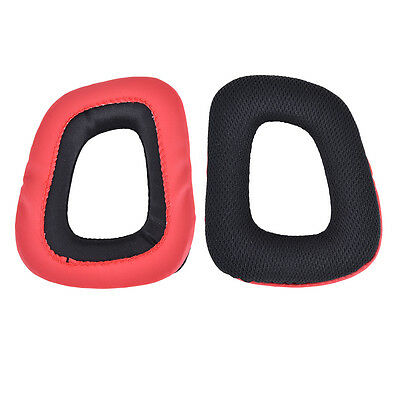1 Pair Replacement Ear Pads Cushions for Logitech G35 G930 G430 F450 Headphone