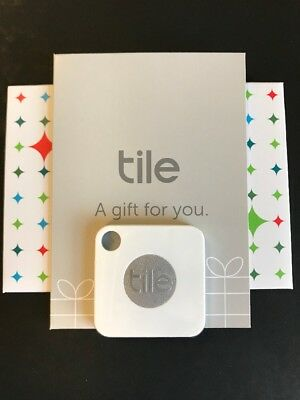 Tile Mate Bluetooth keyring finder/tracking device with Gift pouch