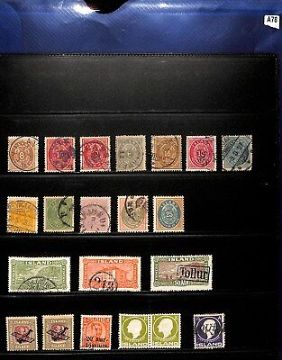 A78-Iceland Collection-Mint & Used