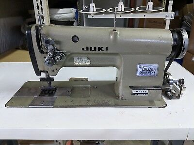 Juki Double Needle Sewing Machine LH-515 w/ 110 volt Motor and Table