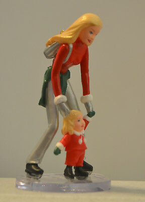 2001 HALLMARK BARBIE and KELLY ON THE ICE CHRISTMAS ORNAMENT