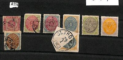 A114 - Danish West Indies - Mint & Used inc. Bisect