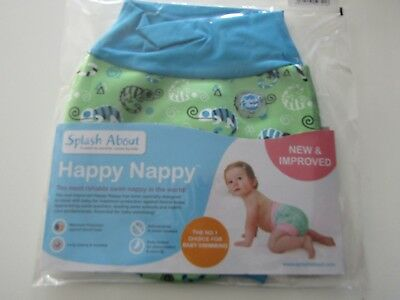 Splash About Happy Nappy Gecko 12-24 Months NEW IMPROVED 2017 Baby Toddler Swim
