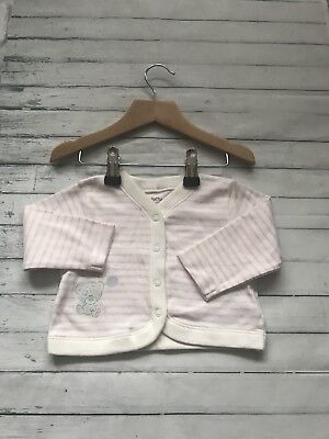 Baby Girls Clothes 3-6 Months - Cute Girl Tatty Teddy Jacket - New