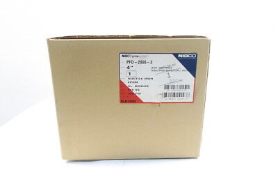 New Nibco Nlr100H Pfd-2000-3 Pressystem Press End Butterfly Valve 4In D588092