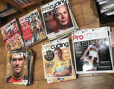 Pro Cycling Magazine Job Lot 2008. - 2016 Some Full Years