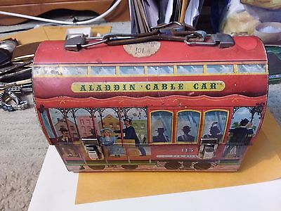 Aladdin Cable Car Lunchbox