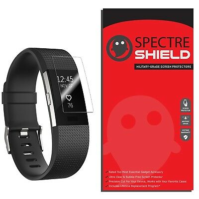 [8-PACK] Spectre Shield Screen Protector for Fitbit Charge 2 (Military-Grade)