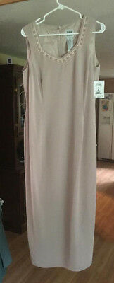 Nwts Ladies R&m Richards Mauve Dress & Jacket Formal Mother Of The Bride Size 14