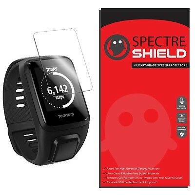 [6-PACK] Spectre Shield Screen Protector for TomTom Spark 3 (Military-Grade)