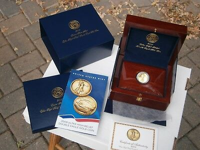 2009 Ultra High Relief Double Eagle (w/Original Box, CoA, Book and Brochure)