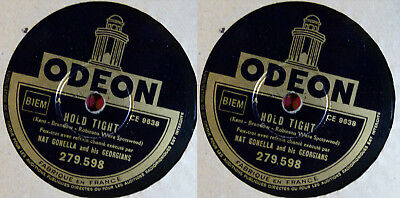 Nat Gonella - Boogie Woogie / Hold Tight - Odeon 279.598 78RPM TOP-Zustand