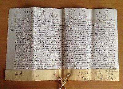 LAC VERY RARE PAPAL BULLA Parchment Vellum 1722 in name of Pope Innocent XIII