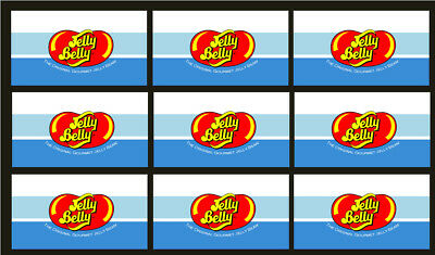 9 VENDSTAR 3000 VENDING MACHINE CANDY STICKERS LABEL  Free Shipping Jelly Belly