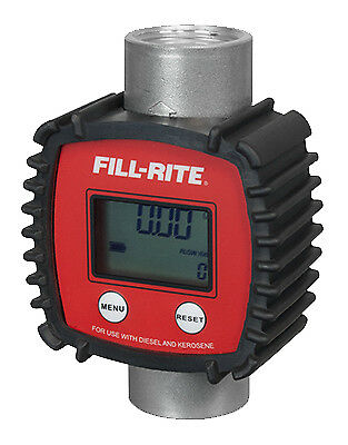TUTHILL CORP In-Line Digital Meter, 3 to 26 GPM, 145 PSI