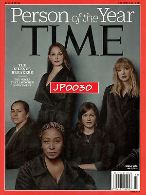 Time Person Of The Year 2017, The Silence Breakers, Brand New/Sealed Newsstand
