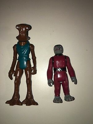Star Wars Vintage 77-85 Snaggletooth & Hammerhead