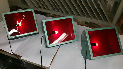 (3) Darkroom Red Safe Lights