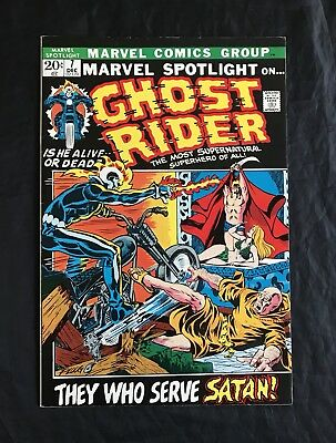 Marvel Spotlight #7 (12/72) 3Rd App Ghost Rider High Grade Vf/nm