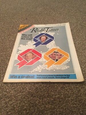 Radio Times. General Election. 6-12 June 1987