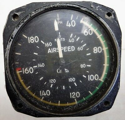 Cessna Aircraft Standard Precision Air Speed Indicator P/N 51323N4 C150 C172