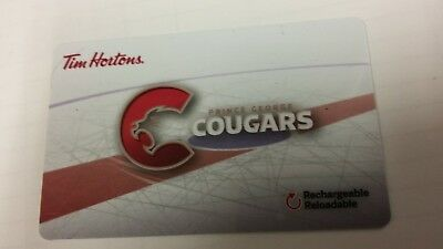 Tim Horton's Gift Card Prince George Cougars 2017 FD57069