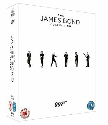 James Bond 007 Collection 23 Filme + Leerplatz Spectre 23 Blu Ray Box, NEU & OVP