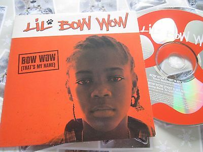 Lil' Bow Wow – Bow Wow (That's My Name) Columbia Records CDr UK Promo CD Single