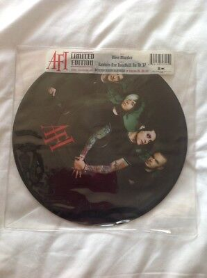 Hot Topic AFI Limited Edition Miss Murder vinyl picture disc