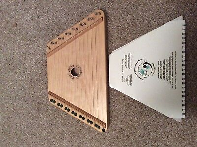 Child's  zither, psaltery, harp string instrument.