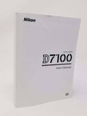NIKON D5600 5600 Instruction Owners Manual D5600 Book NEW - $9 99