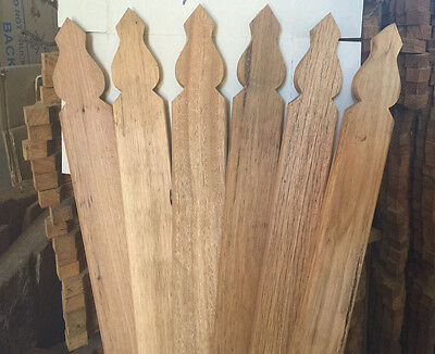 Hardwood Windsor Fence Pickets – 65 x 19 in lengths of 900 to 1350mm
