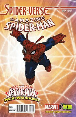 Amazing Spider-Man Issue #12 Jeff Wamester Spider-Verse Cover (Marvel) Comic!