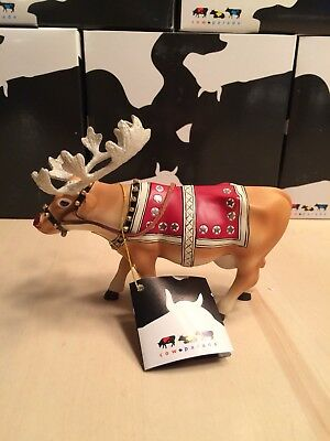 Cow Parade Moodolph Cow Figurine 2002 #9147 Retired New with tag and box MIB