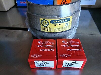 New Front Drum Brake Shoes & Wheel Cylinders ..  Hd Hr Holden .
