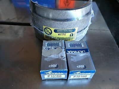 New Rear Drum Brake Shoes & Wheel Cylinders ..  Ej Eh Hd Hr Holden . Drum Front