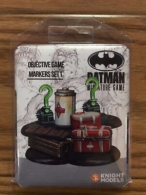 Knight Models DC Universe: Accessories Objective Game Markers Set 1 Resin