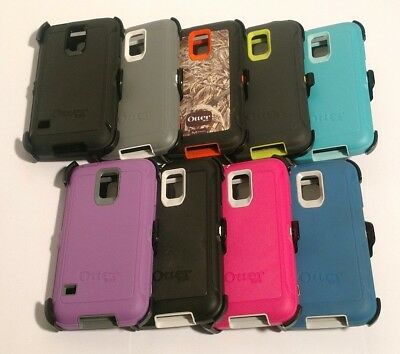 OtterBox Defender Series Case for Samsung Galaxy S5 With Belt Clip - colors