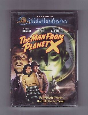 (DVD) THE MAN FROM PLANET X / MGM Midnight Movies / NEW